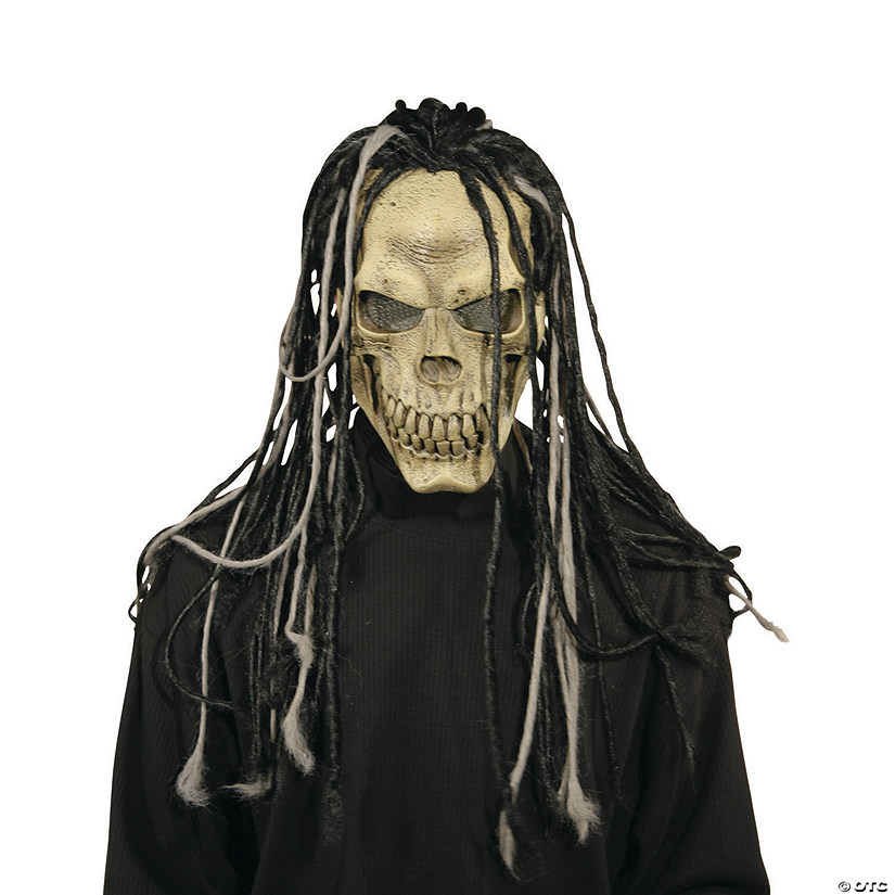 Men's Dead Dread Mask with Hair