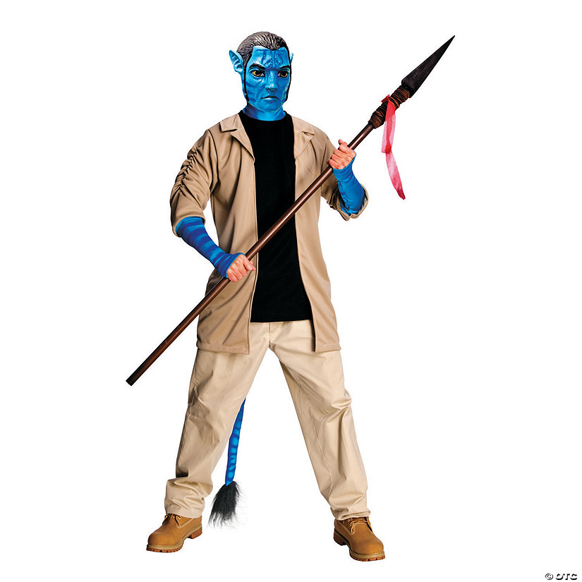 Men's Deluxe Jake Sulley Avatar Costume