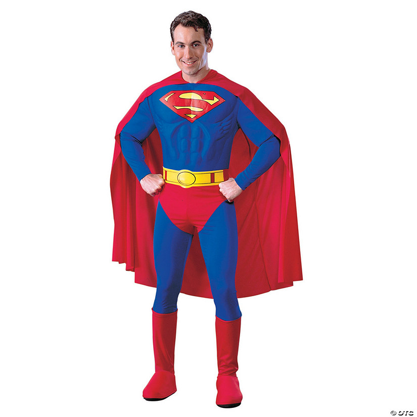 Men's Deluxe Muscle Superman™ Costume