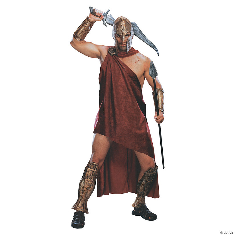Men's Deluxe Spartan 300 Movie Costume