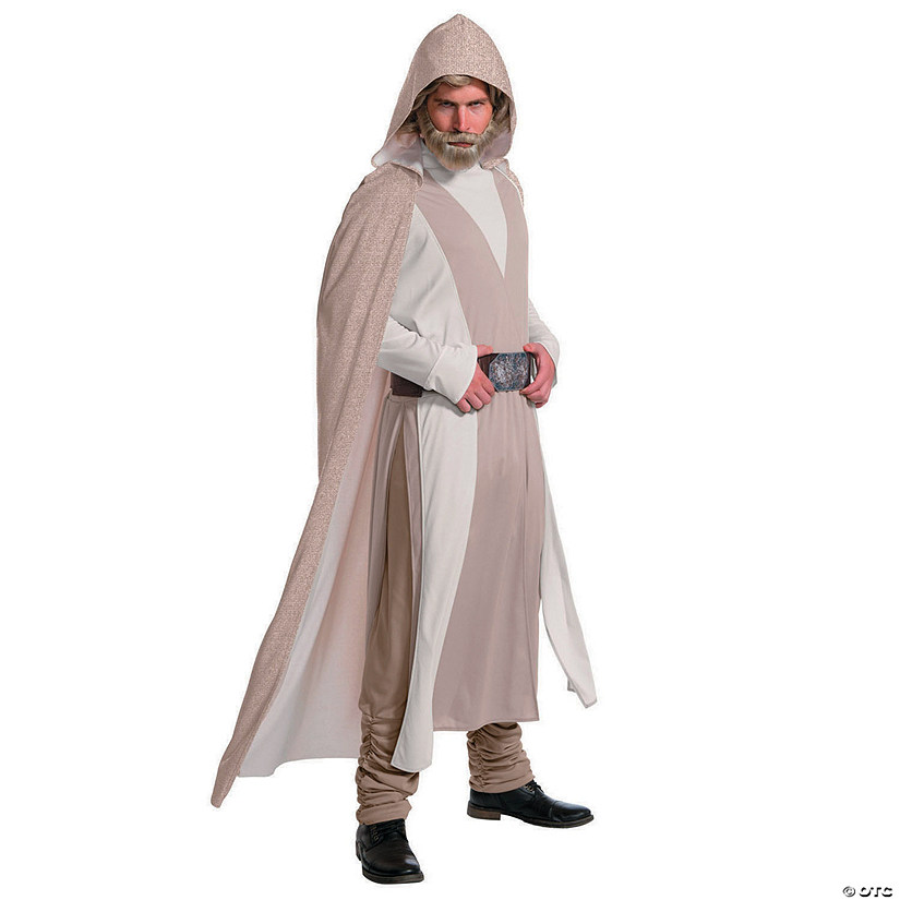 Men's Deluxe Star Wars™ Episode VIII: The Last Jedi Luke Skywalker Costume - Extra Large