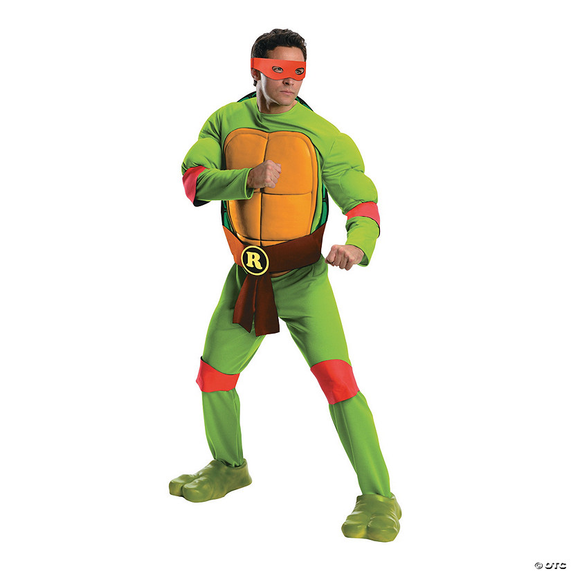 Men's Deluxe Teenage Mutant Ninja Turtles Raphael Costume