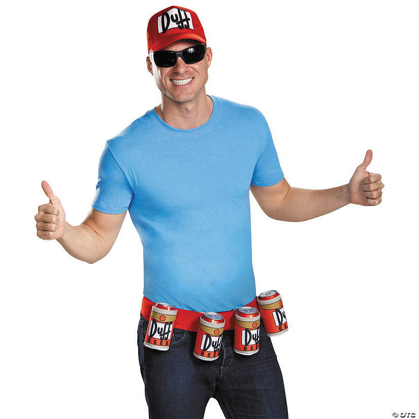 Men's Duffman Kit Costume