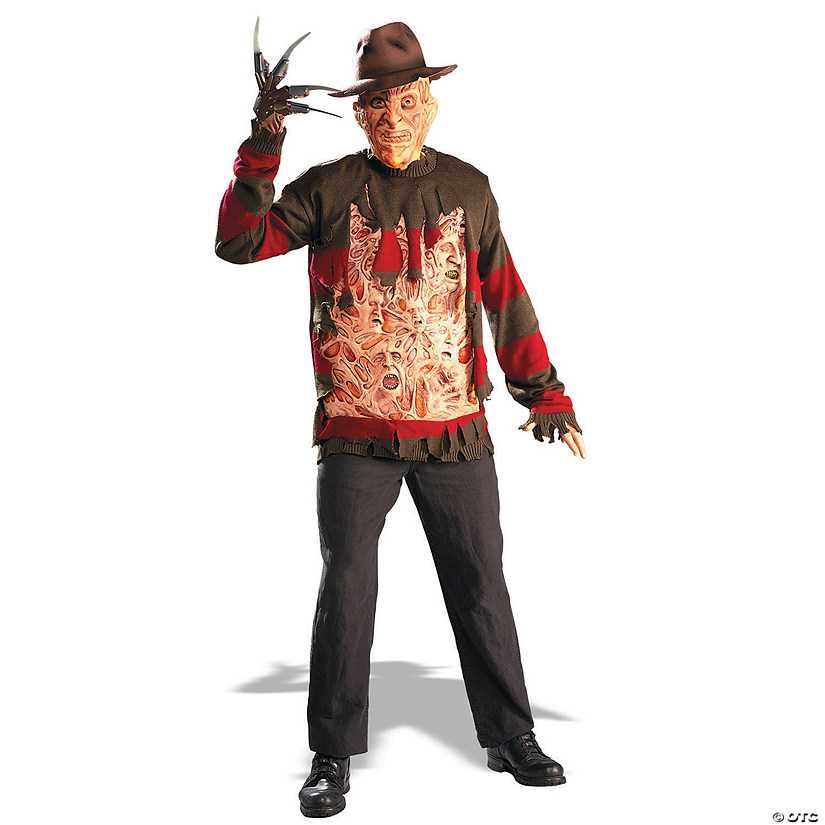 Men's Freddy Chest Of Souls Sweater Costume