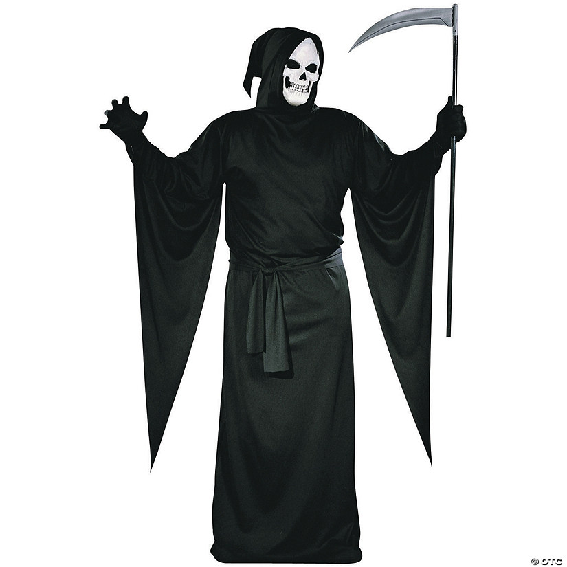 Men's Grim Reaper Robe Costume