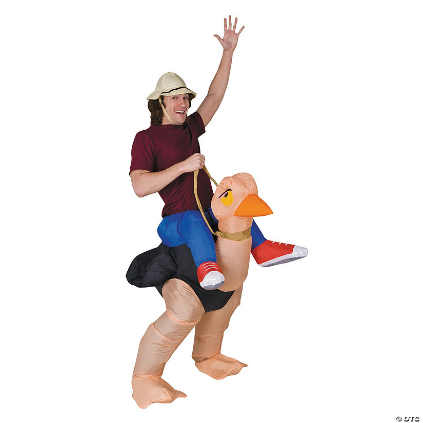 Men's Inflatable Ollie Ostrich Costume