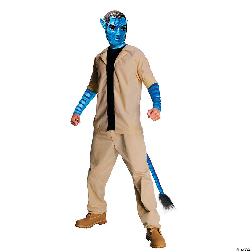 Men's Jake Sulley Avatar Costume - Standard
