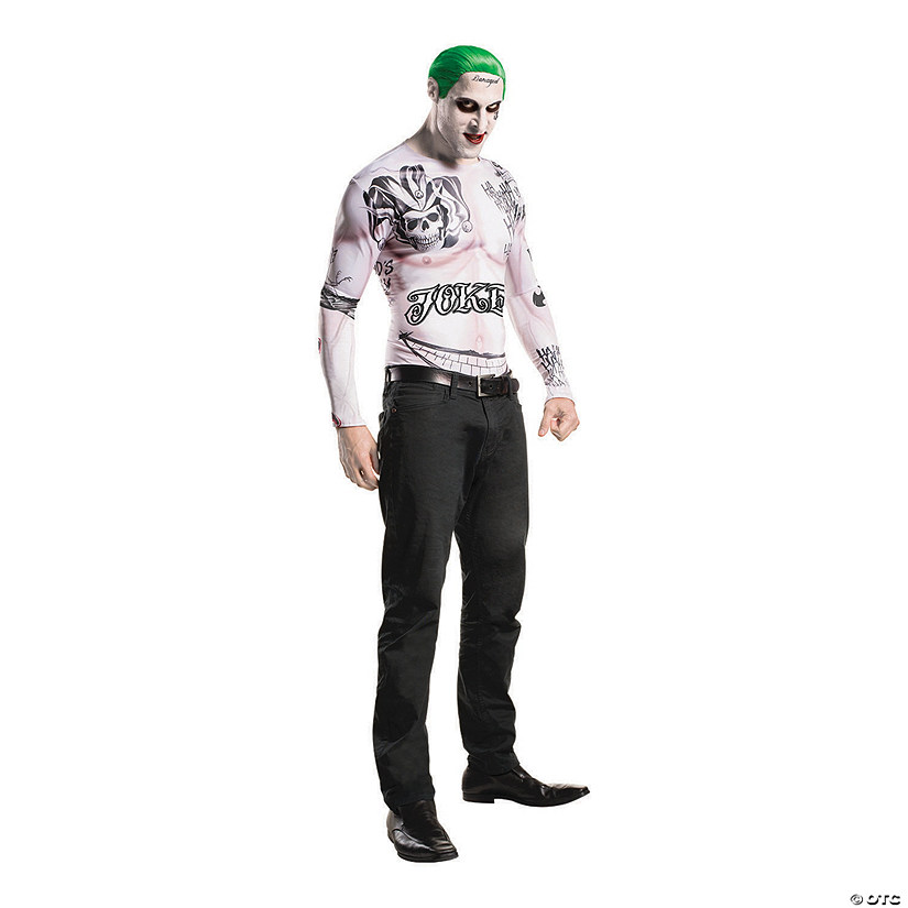 Men's Joker Costume Kit - Standard