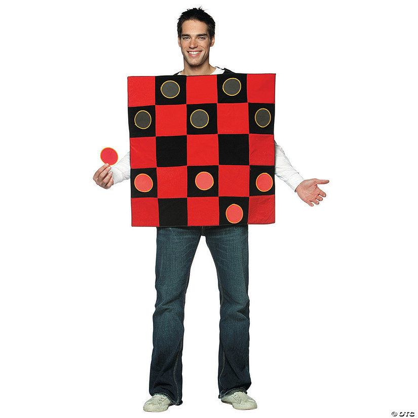 Men's King Me! Checkers Costume