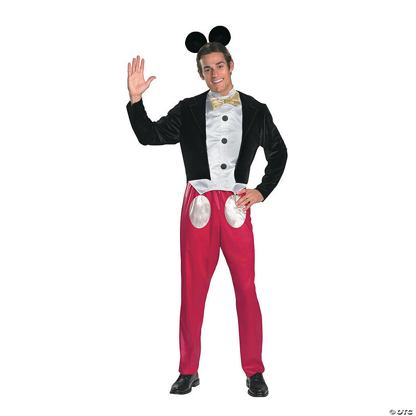 Men's Mickey Mouse Costume - Standard