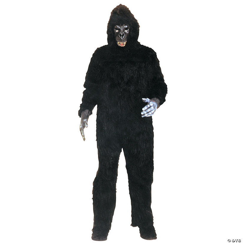 Men's No Chest Gorilla Costume