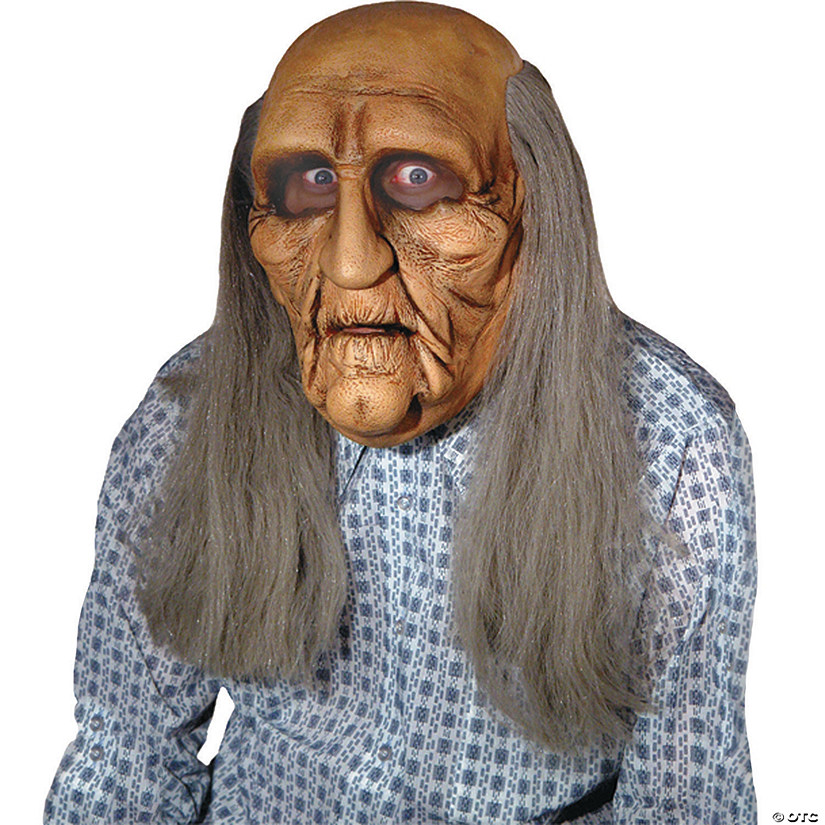 Men's Old Man Realistic Mask