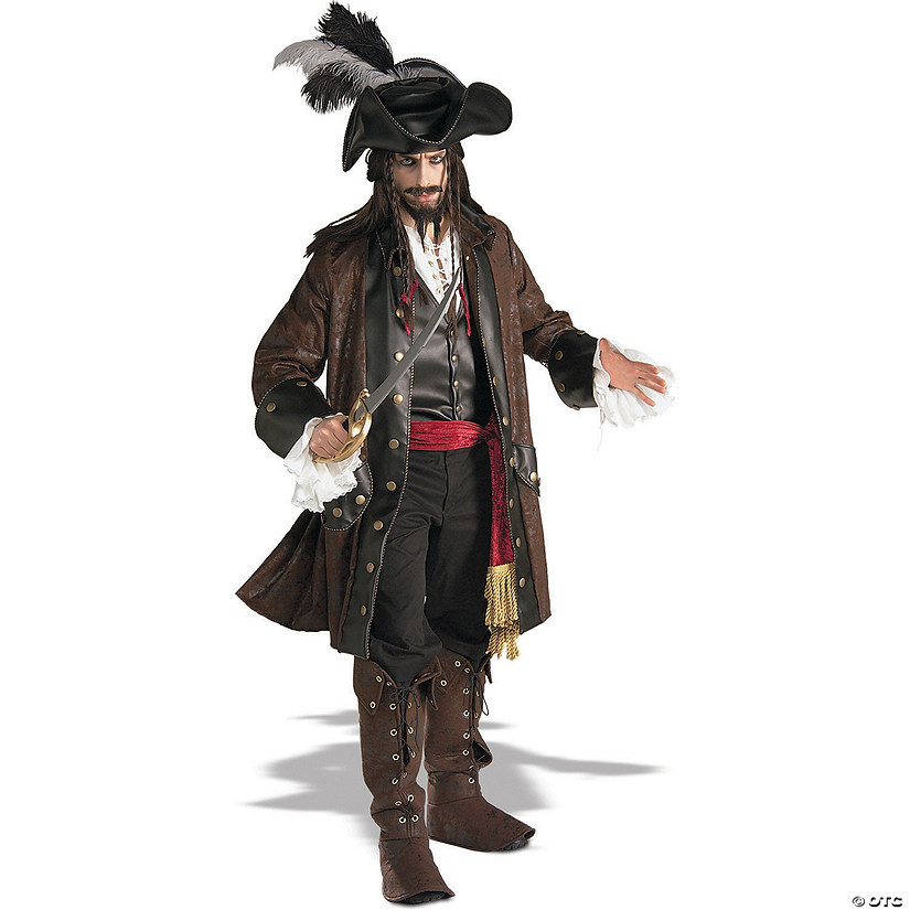 Men's Pirates of the Caribbean Jack Sparrow Costume