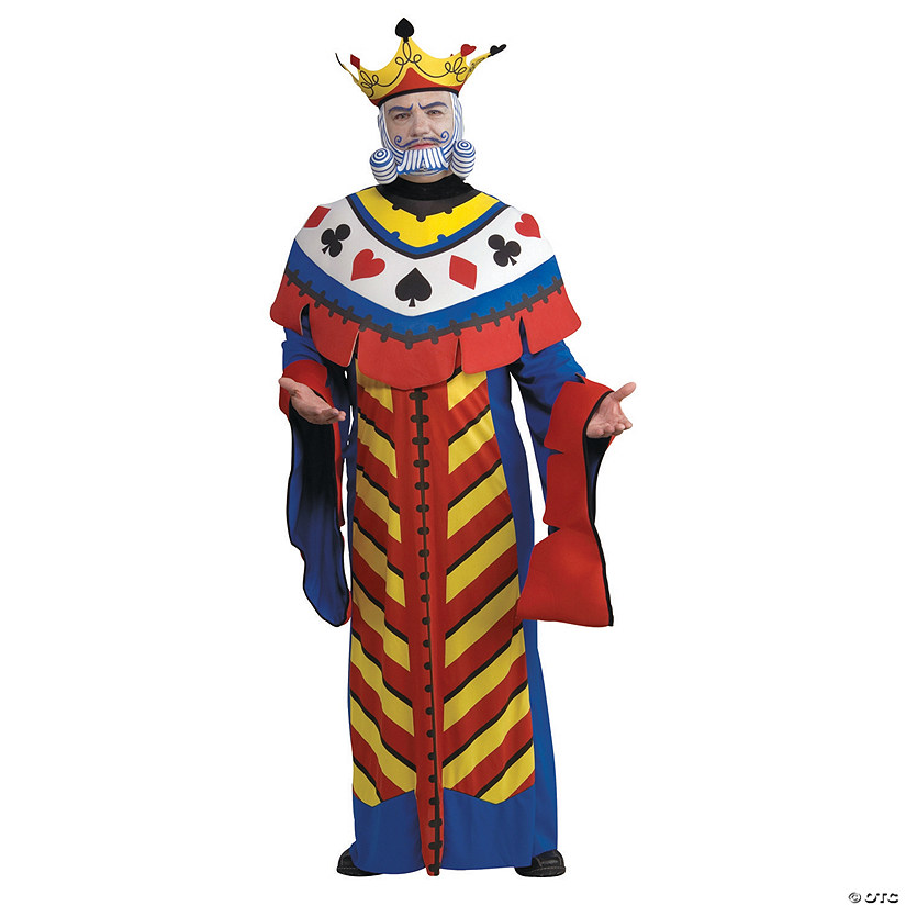Men's Playing Card King Costume