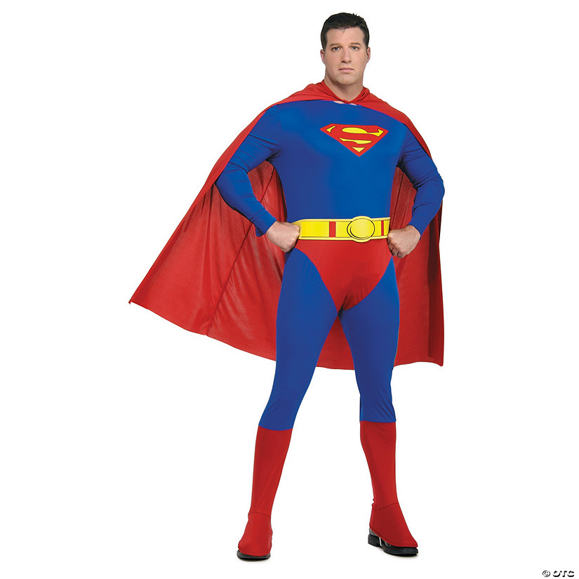 Men's Plus Size Superman™ Costume