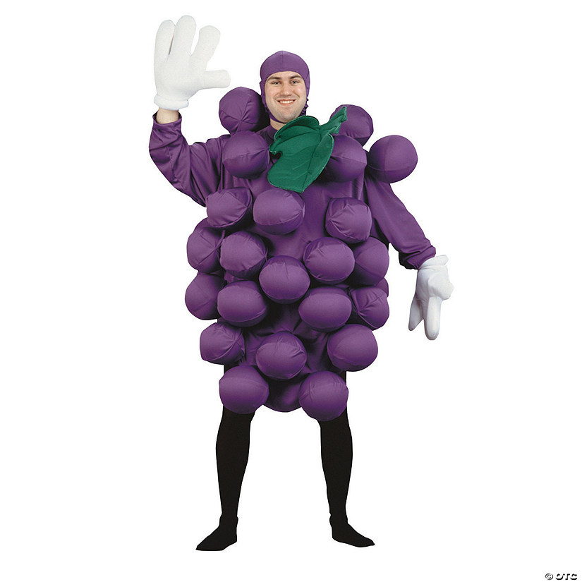 Men's Purple Grapes Costume