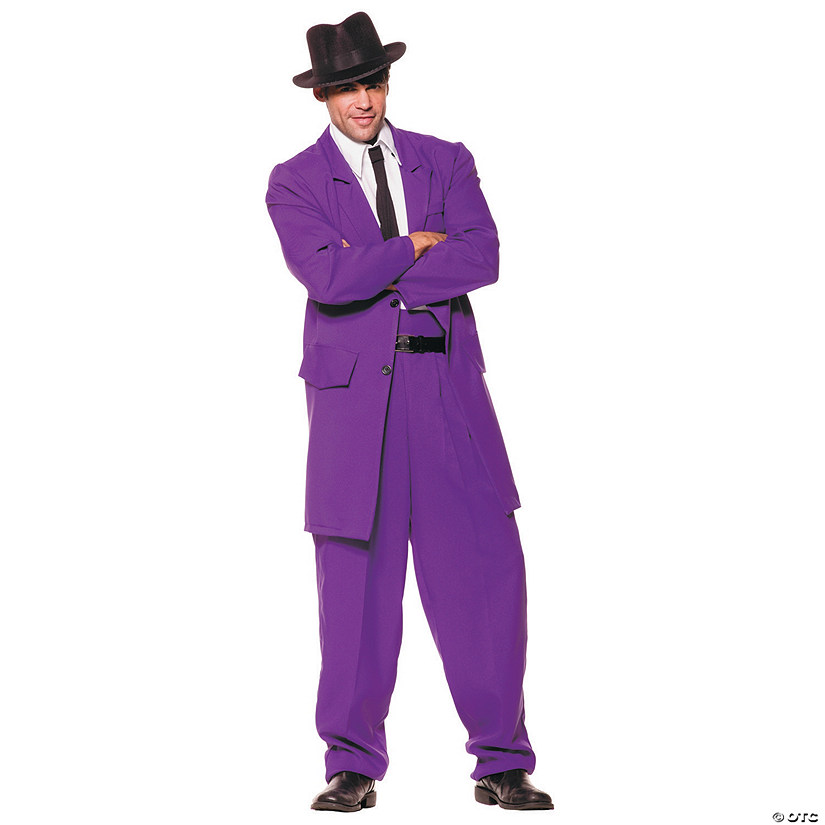 Men's Purple Zoot Suit Costume