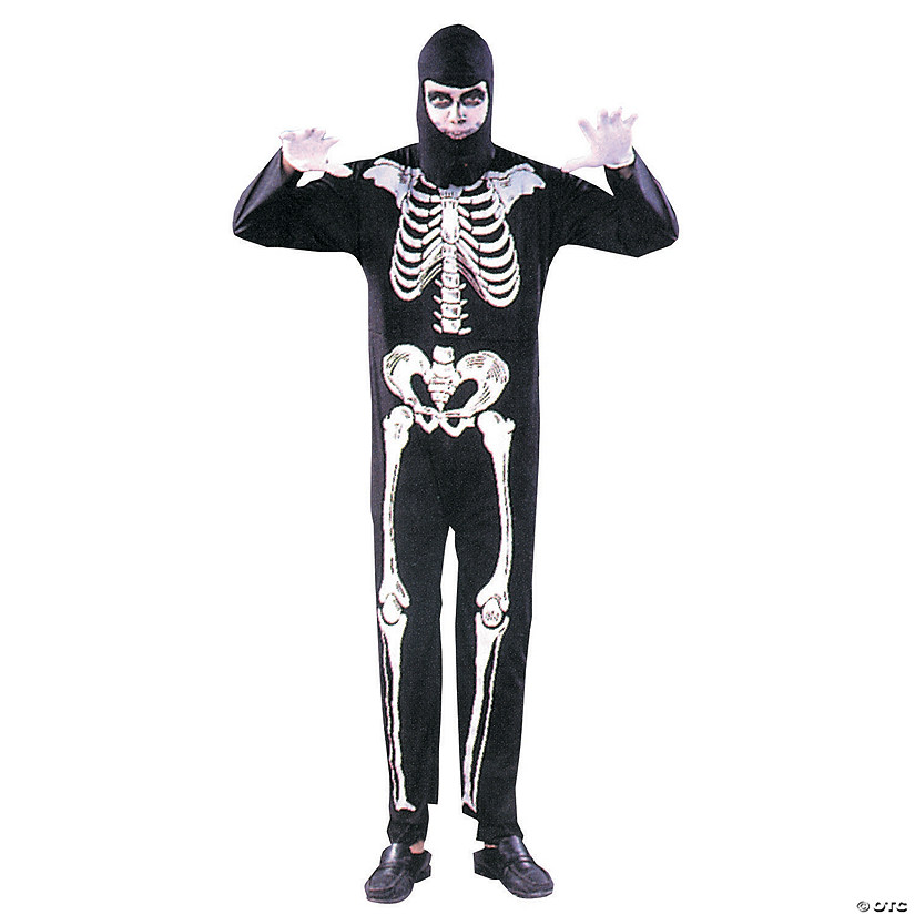Men's Skeleton Costume
