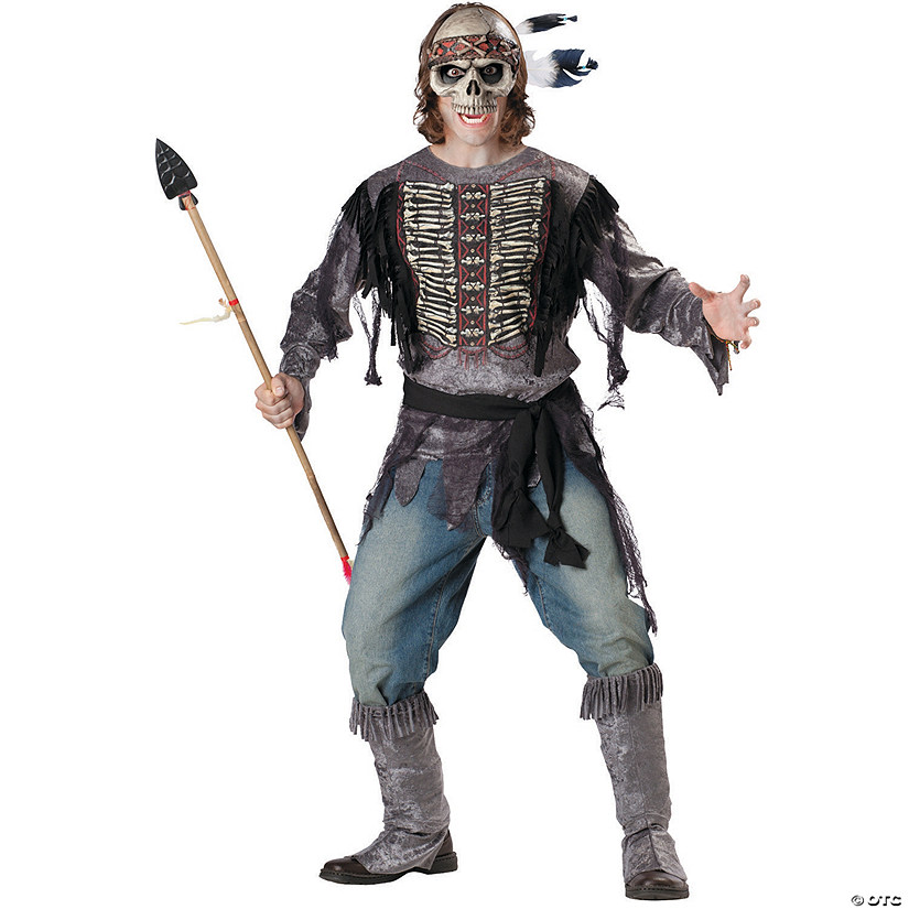 Men's Spirit Warrior Costume