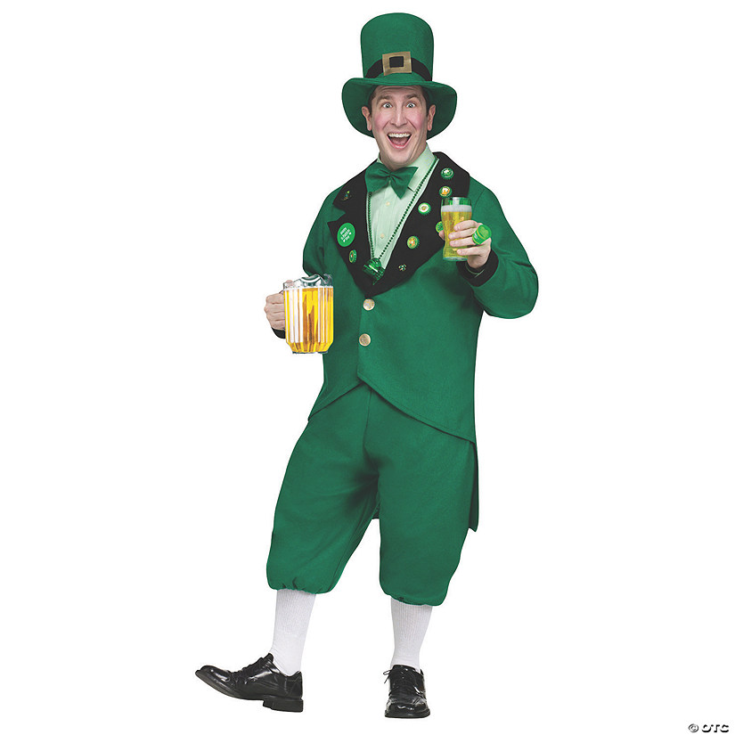 Men's St. Pat's Leprechaun Costume