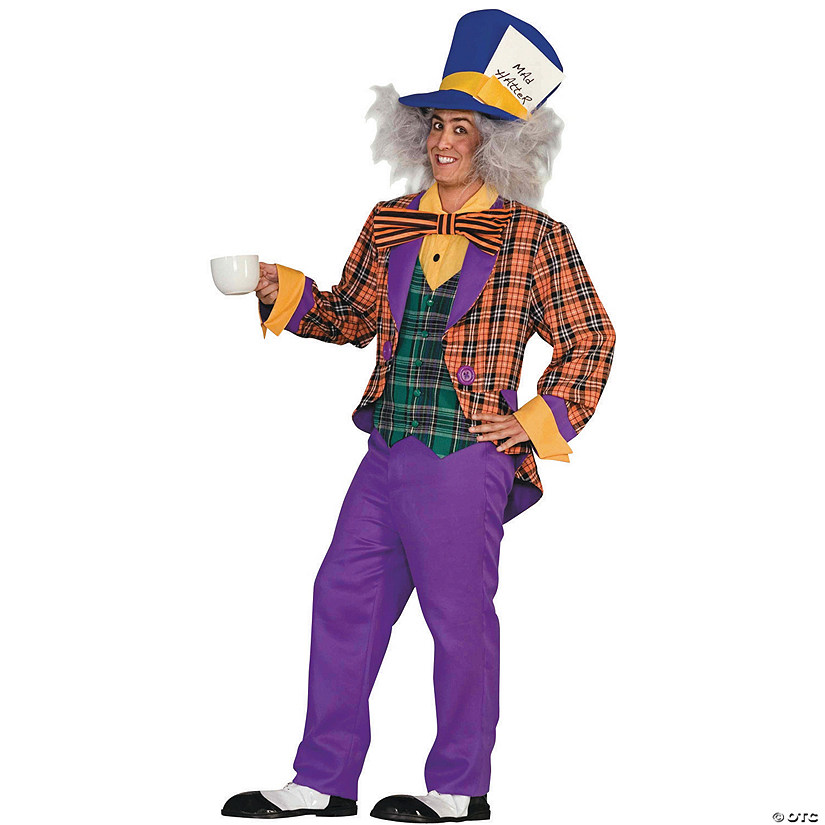 Men's Standard Mad Hatter Costume