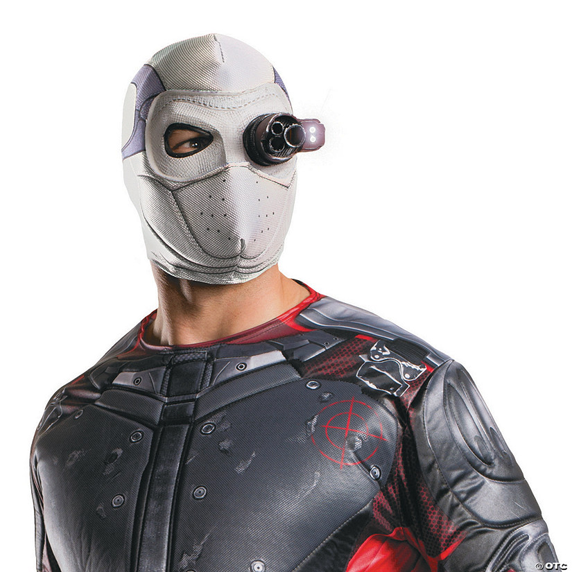 Men's Suicide Squad™ Deadshot Light-Up Mask
