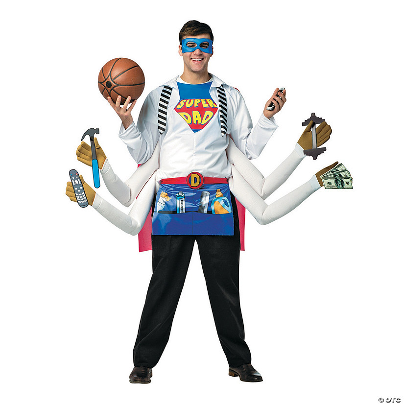 Men's Super Dad Costume