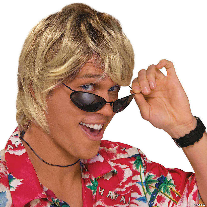Men's Surfer Bum Wig