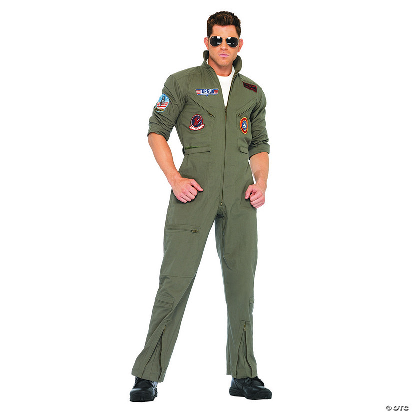 Men's Top Gun Jumpsuit Costume