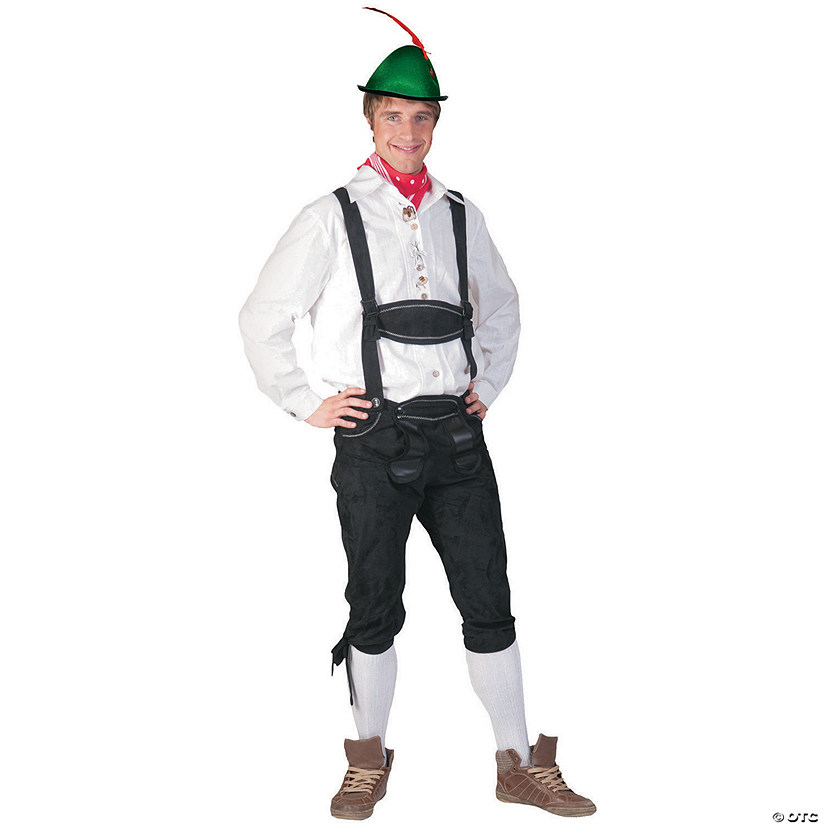 Men's Tyrolean Shirt Costume