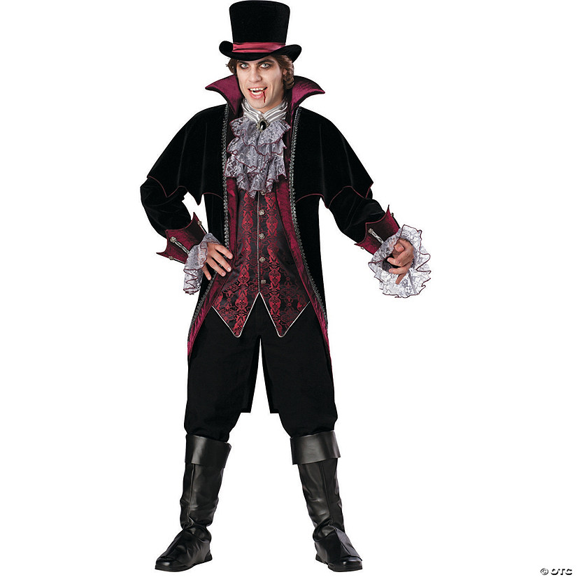 Men's Vampire Of Versailles Costume
