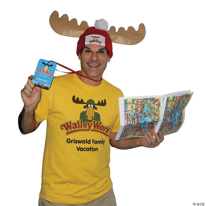 Men's Wally World Park Fan Costume