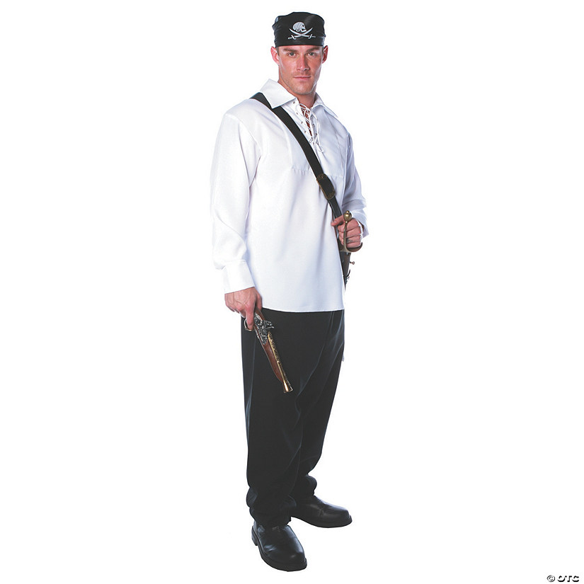 Men's White Pirate Costume