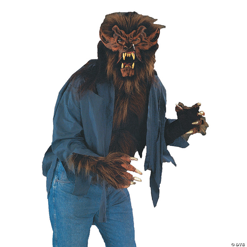 Men's Wolf Shirt Costume