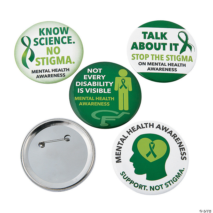 Mental Health Awareness Buttons