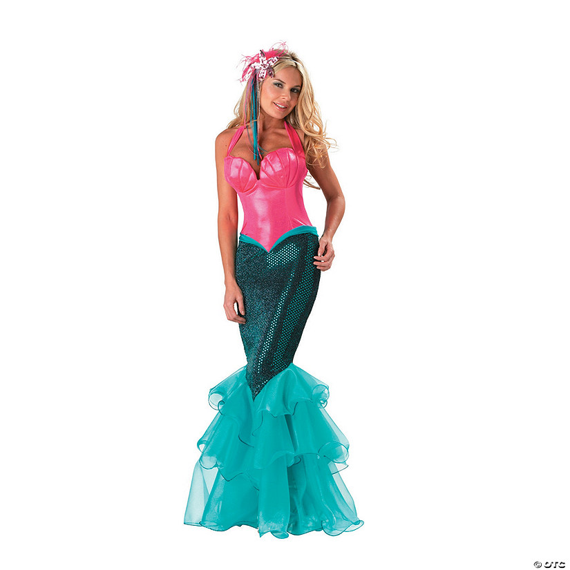 Mermaid Halloween Costume for Women