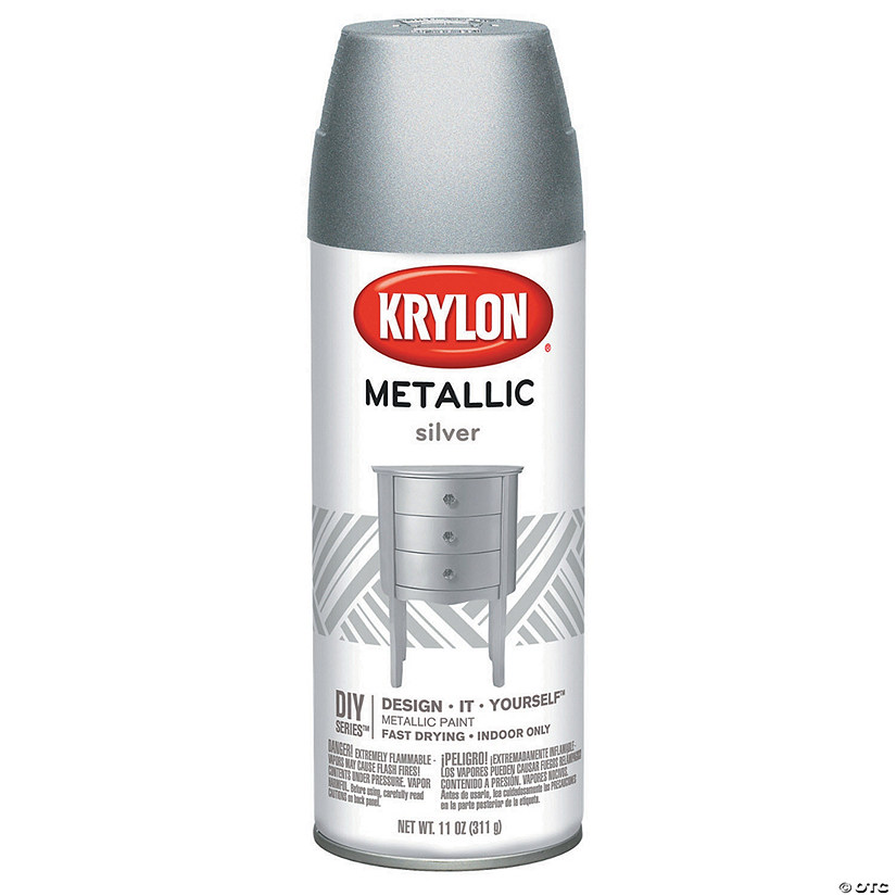 Metallic Spray Paint 11oz-Silver