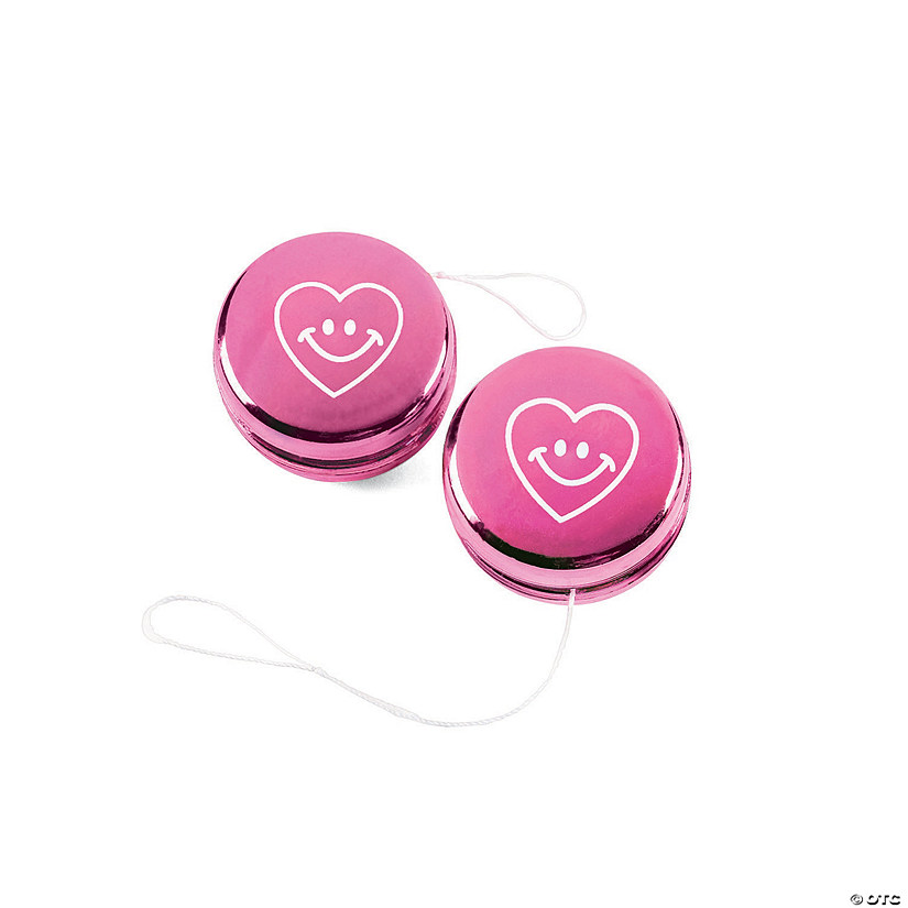 Metallic Valentine Mini YoYos