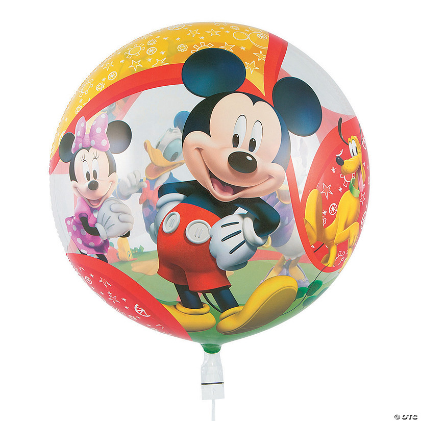 "Mickey & Friends 22"" Plastic Bubble Balloon"