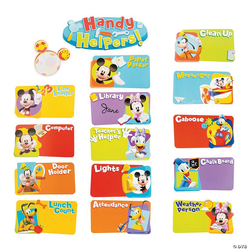Innovative Classroom Jobs ~ Mickey mouse classroom job chart