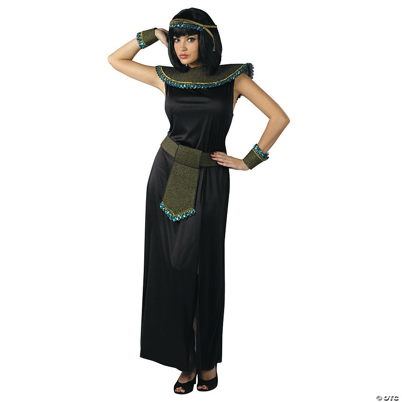 Midnight Cleopatra Halloween Costume for Women