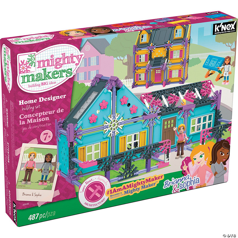 Mighty Makers Home Designer Building Set Discontinued