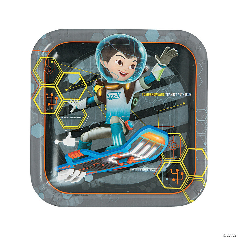 Miles from Tomorrowland Paper Dinner Plates