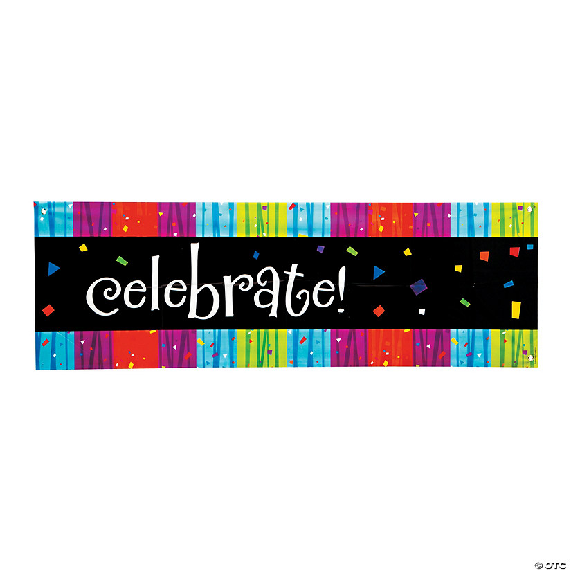 Milestone Celebration Add an Age Plastic Banner