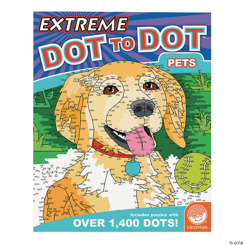 MindWare<sup>®</sup> Extreme Dot to Dot: Pets