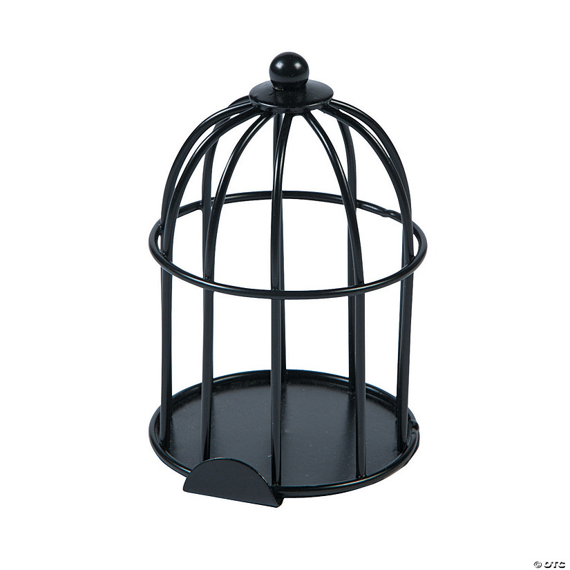 Mini Black Birdcages