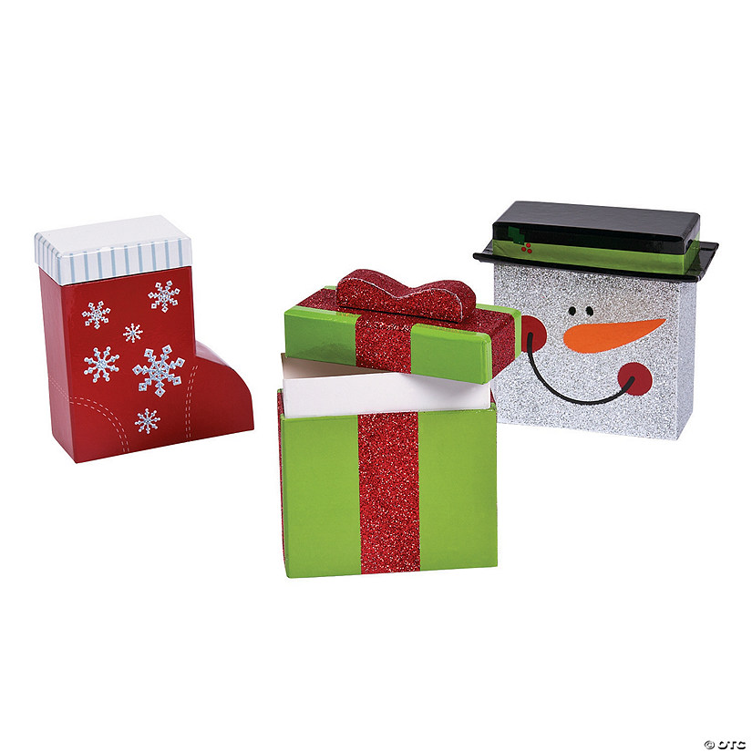 Mini christmas gift boxes