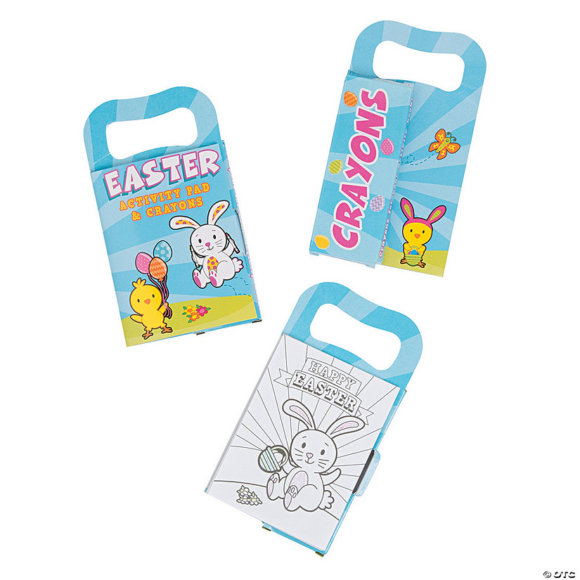 Mini Easter Carry-Along Activity Books