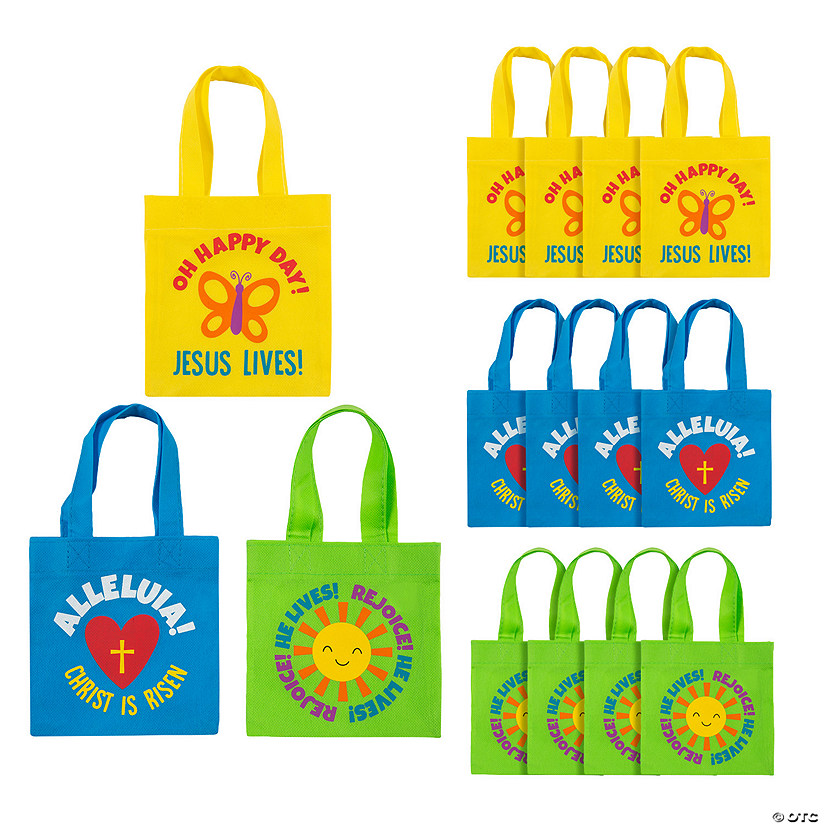 Mini He Lives Tote Bags