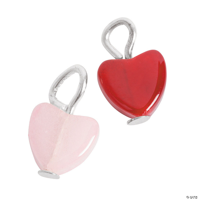 Mini Heart Charms